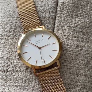 Accessories - Rosefield Rose Gold watch